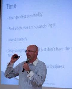 Coach Sean Speaking in Denver