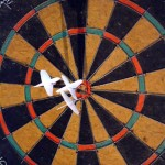 Target Marketing Dartboard